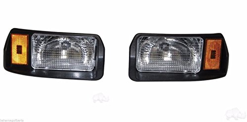 Club Car DS Factory Size Passenger & Driver Side Headlights