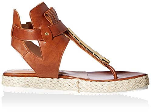 Chaniotakis Womens Thong Sandal Tan zV2U7nI8