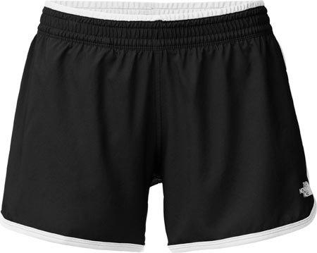 (The North Face Women's Reflex Core Shorts, Black/TNF White, XL X 4)