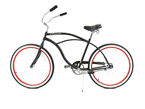 "Zycle Fix ZF Bikes 26"" Classic Men's Beach Cruiser Bicycles"