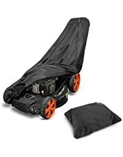 Lawn Mower Cover UV Protection and Waterproof, Push Mower Cover 210D Oxford for Standard Sized Gas, Electric, Reel Push Mowers with Storage Bag