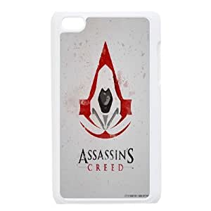 [AinsleyRomo Phone Case] Assassin's Creed series protective pattern case FOR IPod Touch 4th [ACD9]91487