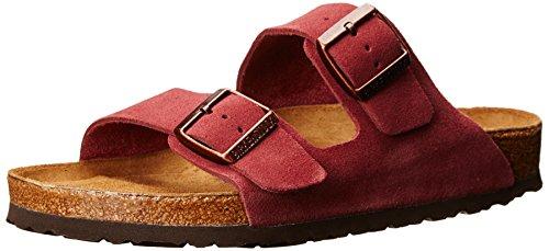 e6ff3af6e2b Birkenstock Unisex Arizona SFB Suede Soft Footbed Sandal