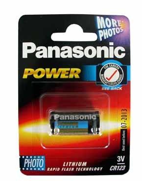 cr123 battery panasonic photo power lithium 3v amazon co uk