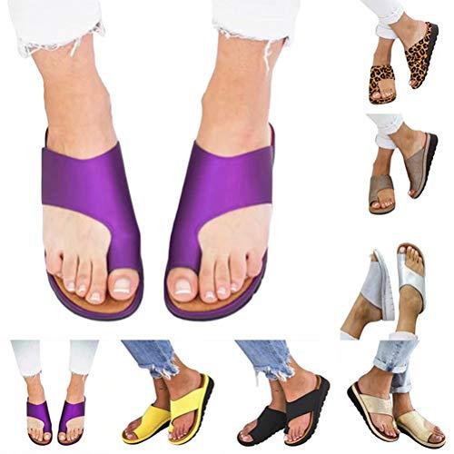 cufuller Women Sandal Comfy Platform Sandal Shoes 2019 New Summer Slides Slippers Sandal Toe Platform Flip Flop Shoes Beach Travel Shoes