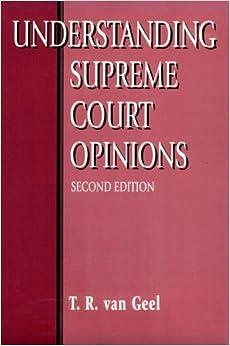 Understanding Supreme Court Opinions 2e