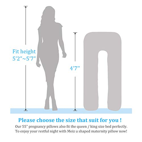 Meiz U Shaped Body Maternity Pregnancy Body Pillows