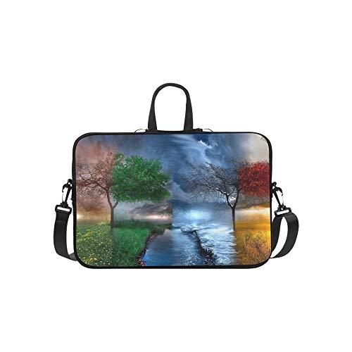 Nature Hd Wallpapers for Desktop K D Nature Beau Pattern Briefcase Laptop Bag Messenger Shoulder Work Bag Crossbody Handbag for Business Travelling (Best Nature Wallpapers For Laptop)