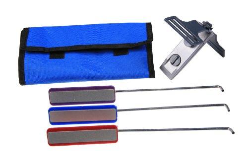 EZE-LAP DMD-Kit Clamp On Fixed Angle Type Knife Sharpening K