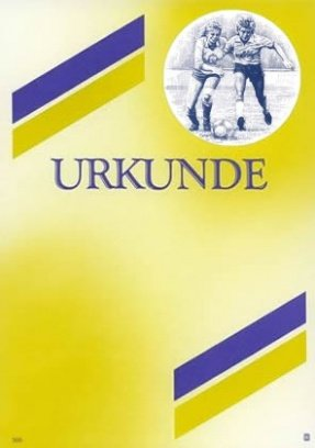 Albert Hoffmann Urkundenverlag Fußball   300   1054   Frauenfußball   Edelkarton (300 g m²) 50 Stk B00AIMAPOG | Preisreduktion