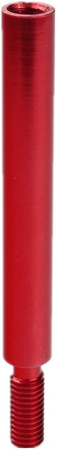 Red 94MM DEWHEL 3.75 12x1.25mm Thread Pitch Various Type R Style Short Shift knob Lever Extension Extender