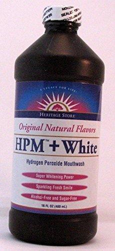 hydrogen peroxide rinse - 3