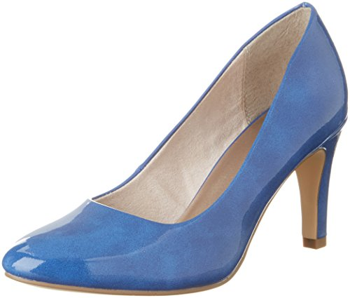 Bleu 22465 Blue Night 838 Patent Royal Tamaris Femme Escarpins xnUnHv