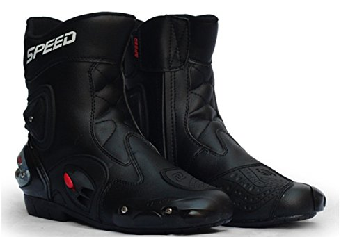 Ychen Men Women Motorcycle Boots Shoes Outdoor Sports Waterproof Shoes(42EU) by Ychen (Image #3)