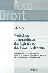 Protection et contrefaçon des logiciels des bases de données