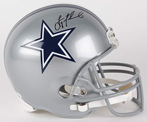 Troy Aikman Dallas Cowboys Signed Autograph Full Size Helmet Aikman GTSM Holo JSA Witnessed Certified
