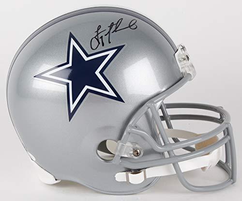 Troy Aikman Dallas Cowboys Signed Autograph Full Size Helmet Aikman GTSM Holo JSA Witnessed Certified ()