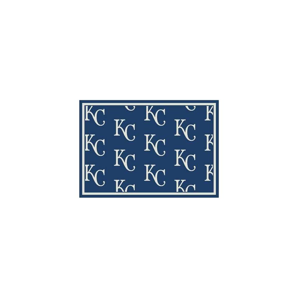 MLB Team Repeat Rug   Kansas City Royals Runner
