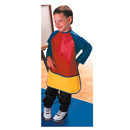PEERLESS PLASTICS INC. KINDER SMOCKS LONG SLEEVES AGES 3-6 (Set of 12) by Peerless Plastics