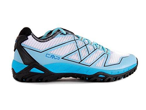 CMP Trekkingschuh Wanderschuh Trail Shoe Nash hellblau OrthoLite® Mesh Gr.38 3Q48466