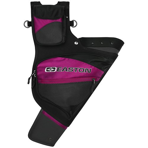 Easton Deluxe Hip Quiver, Right Hand, Pink