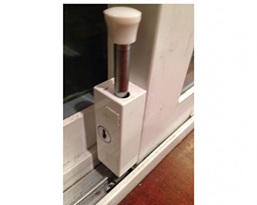 Sliding Patio Door Lock Security Hardened Keyed Bolt