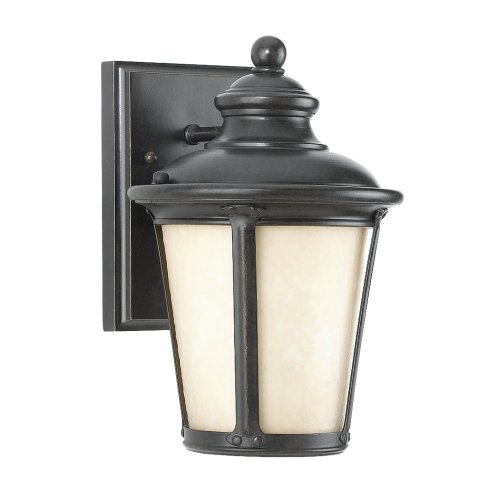 240D-780 Cape May Dark Sky Exterior Wall Sconce, Burled Iron (780 Sea Gull Lighting)