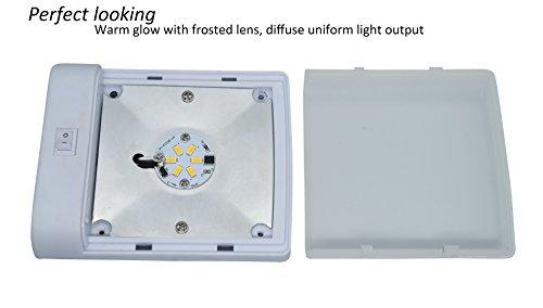 Plafoniere A Led 12 Volt Per Camper : Facon w plafoniera led v luce auto interni con interruttore per