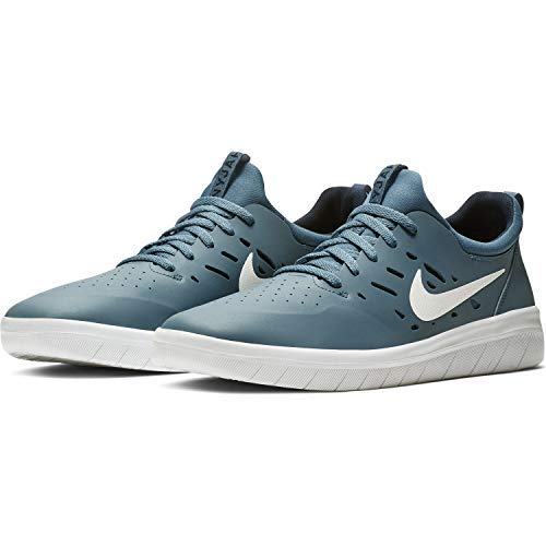 Nike SB Nyjah Free Men's Skateboarding Shoes - AA4272 (8.5 M US, Thunderstorm/White-Obsidian) (Sb Free Shoes Nike)