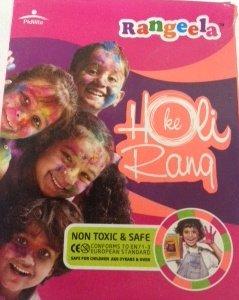 Festival Colors (Rangoli) Holi High Quality Non Toxic & Safe 3x100g