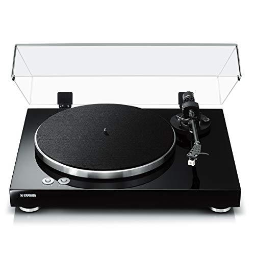 Yamaha TT-S303 Hi-Fi Vinyl Belt Drive Turntable  Piano Black
