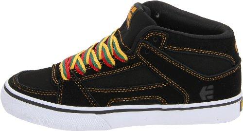 Etnies  Kids RVM Vulc, Chaussures de skateboard pour homme noir Noir/Orange