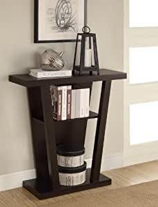 Coaster Home Furnishings 950136 Contemporary Console Table, Cappuccino