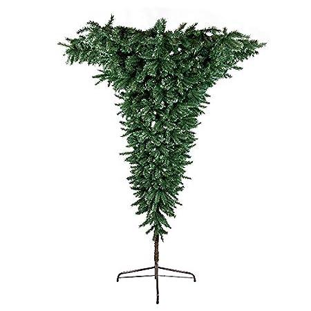 Umbrella Christmas Tree Uk.Floral Silk Upside Down Umbrella Wall Artificial Christmas