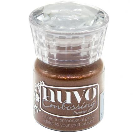 TONIC STUDIOS Nuvo Embossing Powder .74oz.-Copper Blush