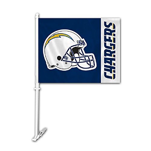 Los Angeles Chargers Car Flag Chargers Car Flag Chargers