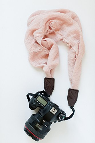 Avellaine Co. Blush Scarf Camera Strap from Avellaine Co.