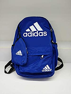 Shop Adidas originals blue Classic Trefoil Backpack BK6722