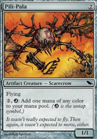 Magic: the Gathering - Pili-Pala - Shadowmoor (Artifact Creature Scarecrow)