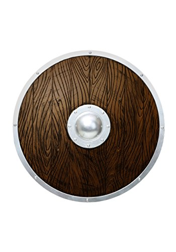 Fun Costumes unisex-adult Wooden Viking Shield Standard