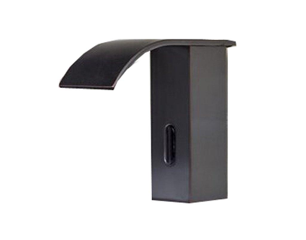 Aquafaucet Automatic Touchless Sensor Waterfall Bathroom Sink Vessel ...
