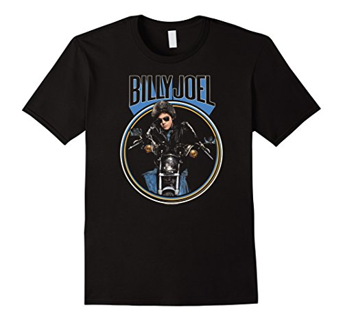 Mens Billy Joel - Sometimes a Fantasy T-Shirt XL Black