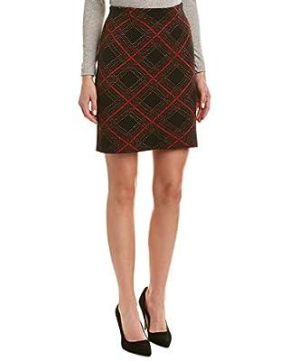 J. McLaughlin J.Mclaughlin Womens Skirt, XL, Red