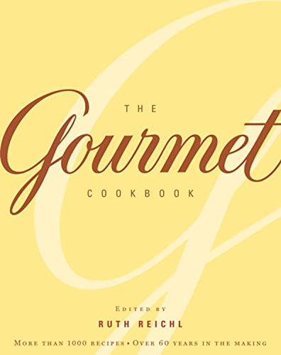The Gourmet Cookbook: More than 1000 recipes (Cookbook Gourmet Magazine)