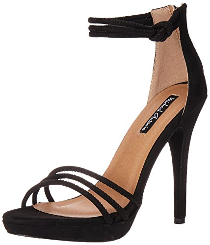 Michael Antonio Women's Trixie Wedge Sandal, Black, 6 M US from Michael Antonio