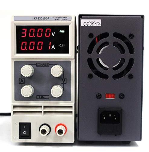Utini Mini Adjustable Digital DC Power Supply 30V 5A 10A 110V 220V Laboratory Switching Power Supply 0.01V 0.001A US//EU//AU Plug
