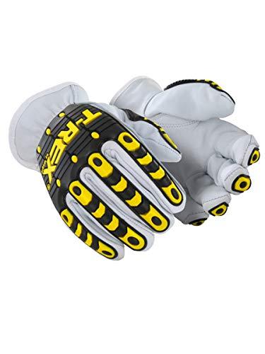 MAGID TRX840XXL Rebel Series | Cut Level A5 Slip-on Leather Impact Driver Gloves, Size 11/XXL, (1 Pair) -