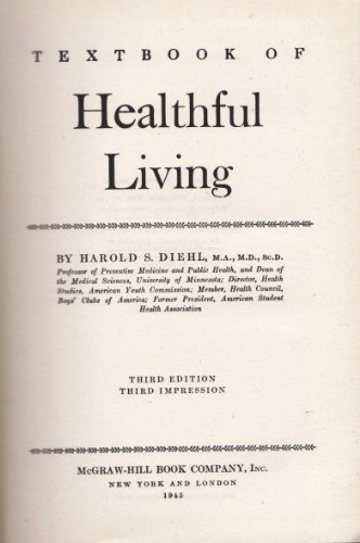 Textbook of healthful living,