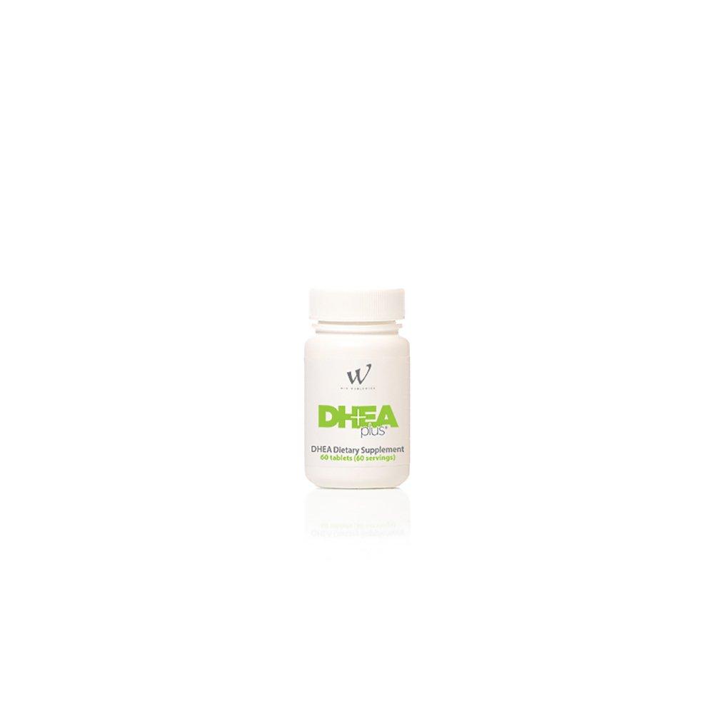 DHEA Plus 50 Milligram DHEA Dietary Supplement, Gingko Biloba, Bioperine (60 Count/Servings)