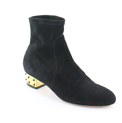 charlotte olympia Winnie Women's Boots Onyx/Gold Size 7.5 M